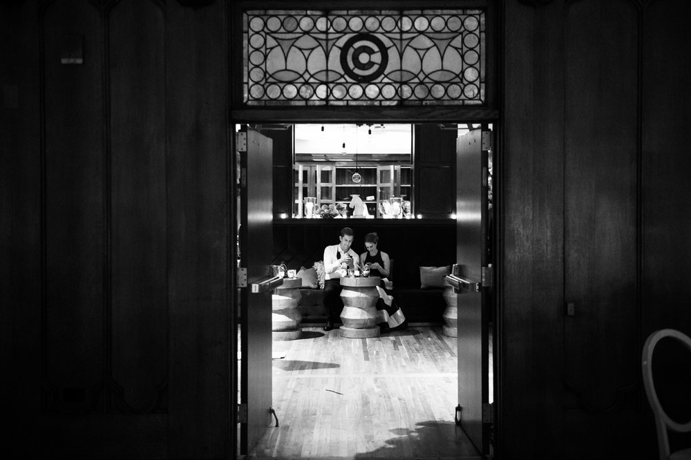 wedding at chicago athletic association
