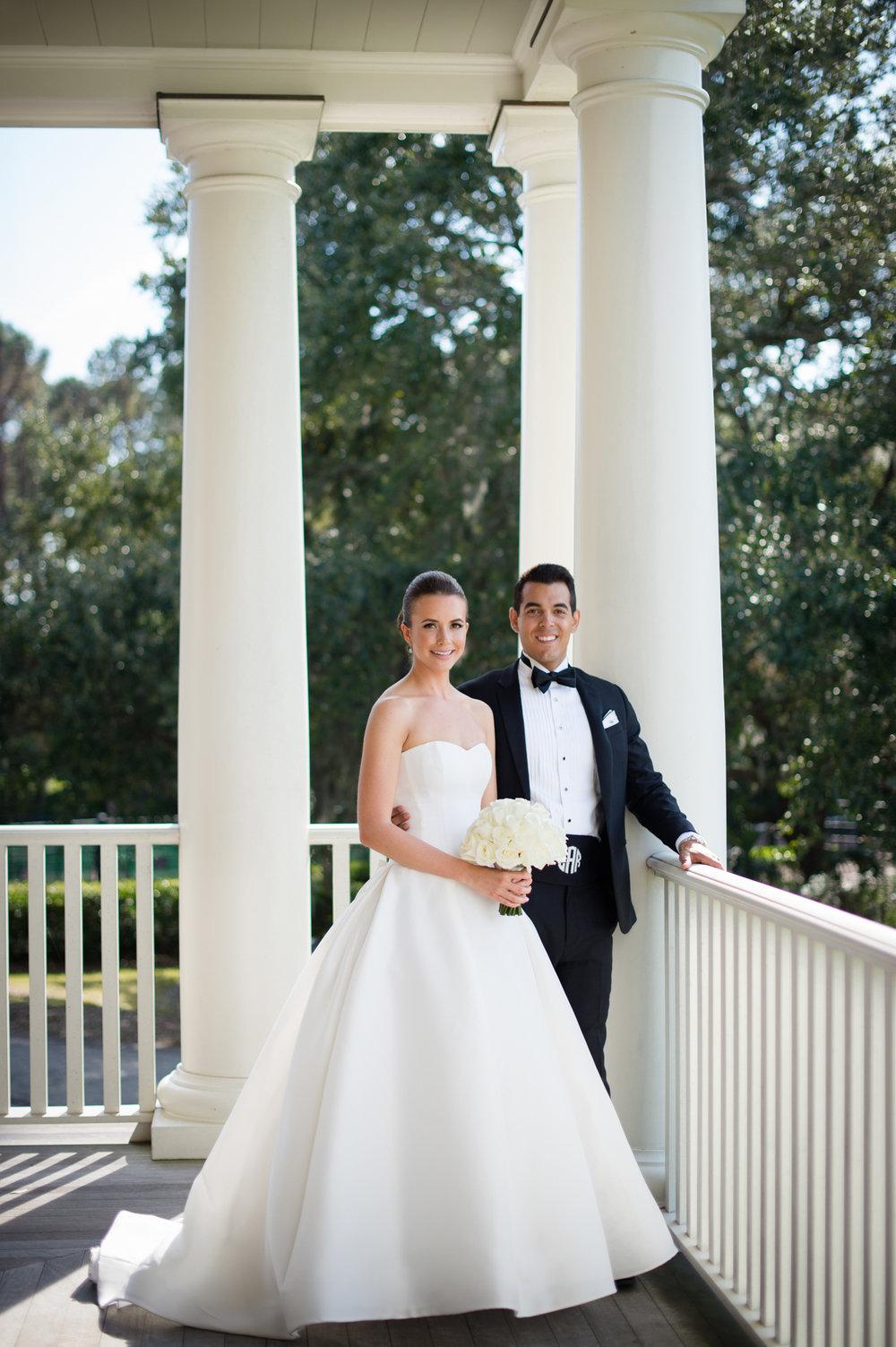 Classic elegant Southern wedding at Kiawah Island River Course