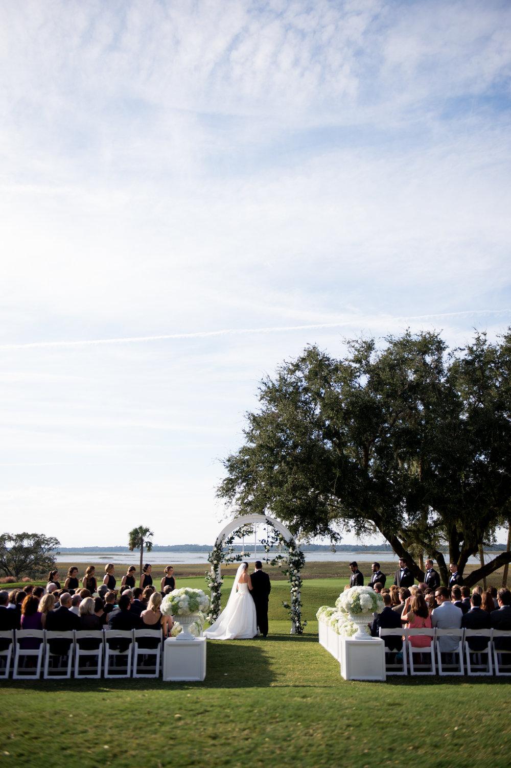 Southern wedding at Kiawah Island Golf Club