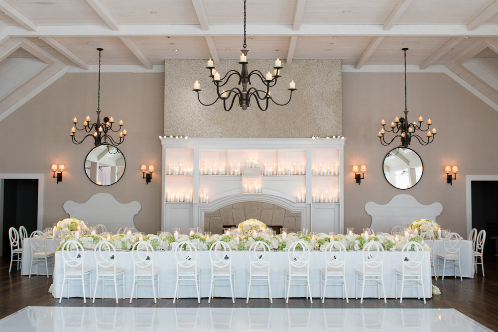 Wedding reception at Kiawah Island Golf Club