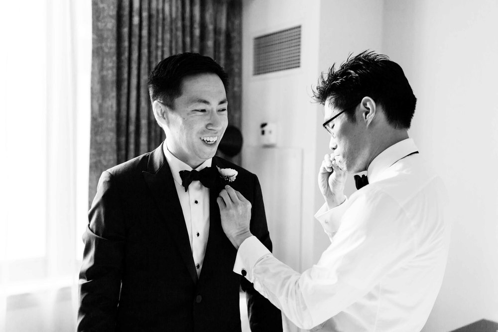 Documentary wedding photography in Chicago.