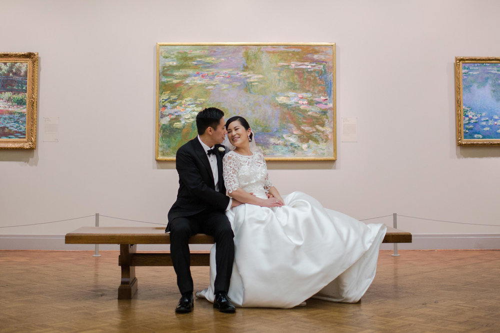 Art Institute Chicago wedding photography