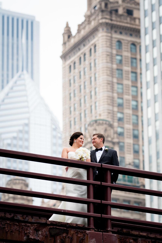 Fine art wedding portraits in Chicago