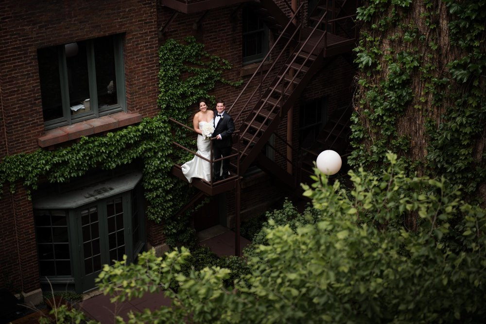 Wedding portrait at Ivy Room Chicago