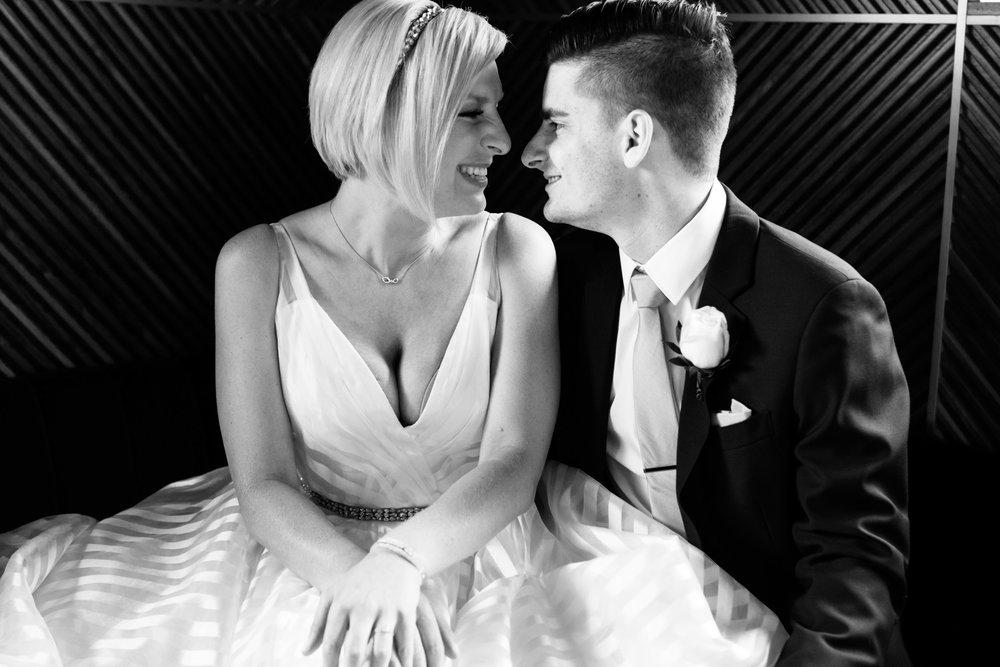 Wedding photos at the Dana Hotel Chicago