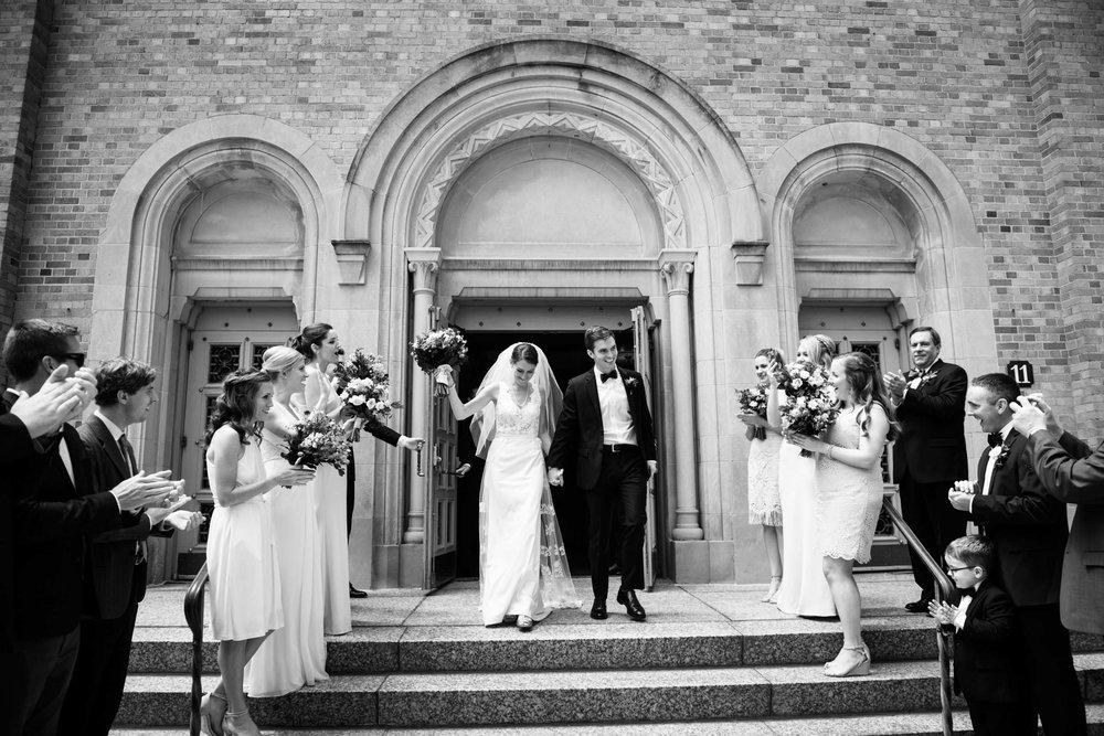 Saint Monica Whitefish Bay Wedding Ceremony