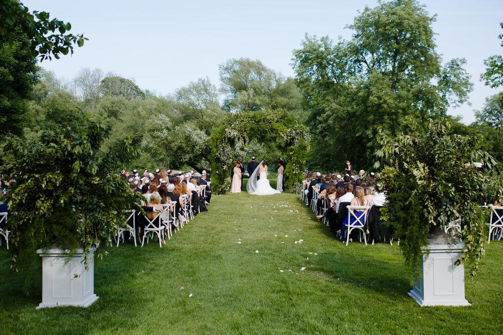 Enchanting Wisconsin Summer Wedding