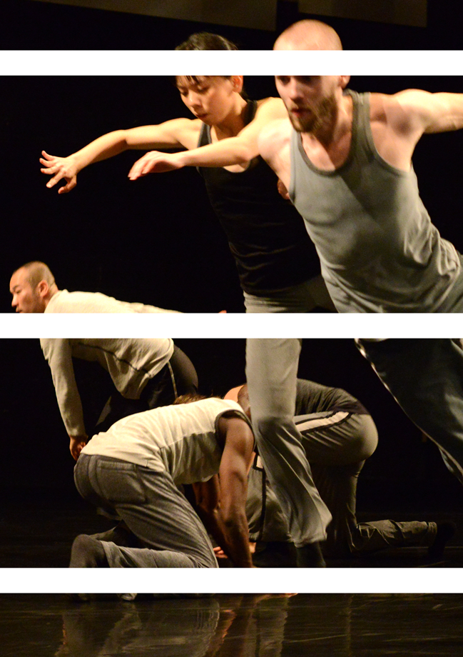 Members of the company in Eleven Accords. Phioto by Guntar Kravis