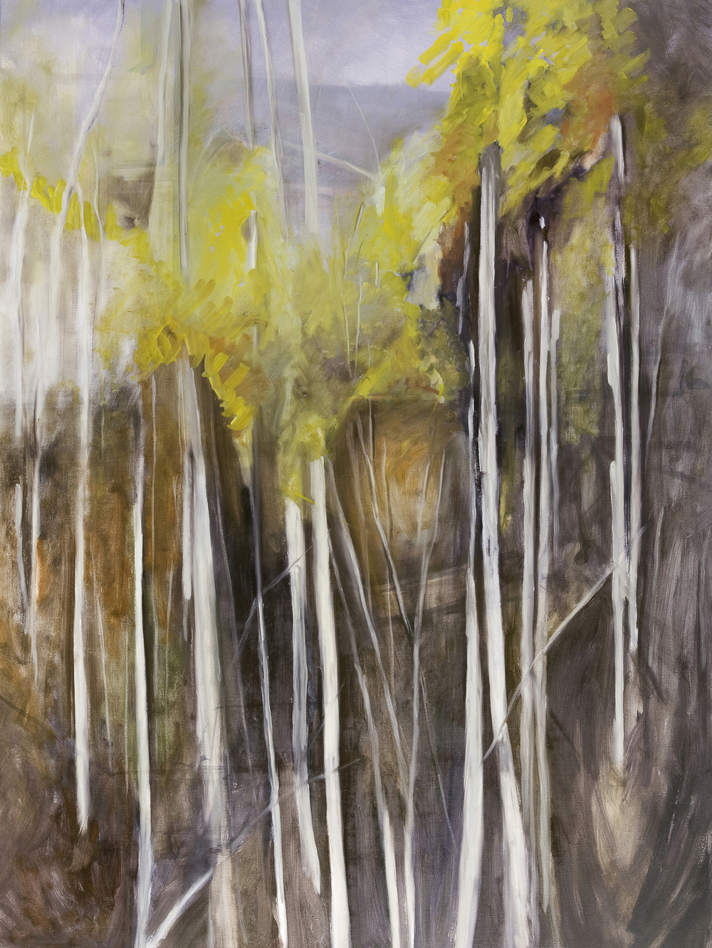 Giallo, 2009, Oil on Canvas, Oil on Canvas, 72 x 54 inches