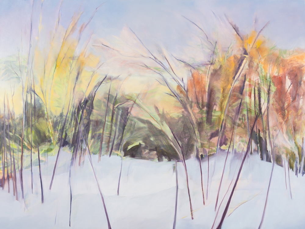 Early Winter Redoux, 2013, Oil on canvas, 54 x 72 inches