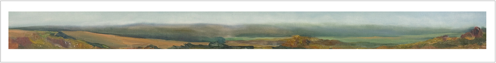 September , 1994, Oil on canvas, 14 x 96 inches (Private Collection-Saint John, NB)