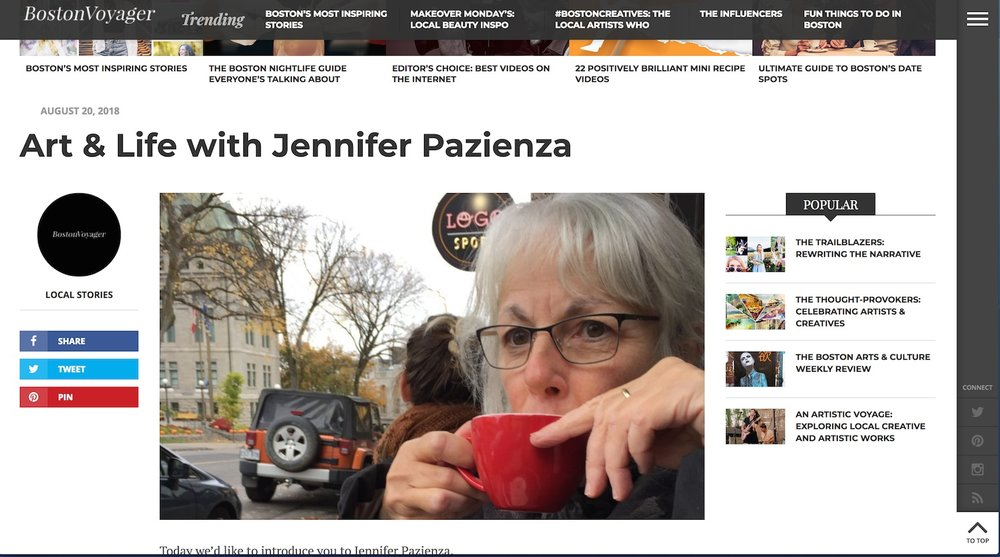 http://bostonvoyager.com/interview/art-life-jennifer-pazienza/
