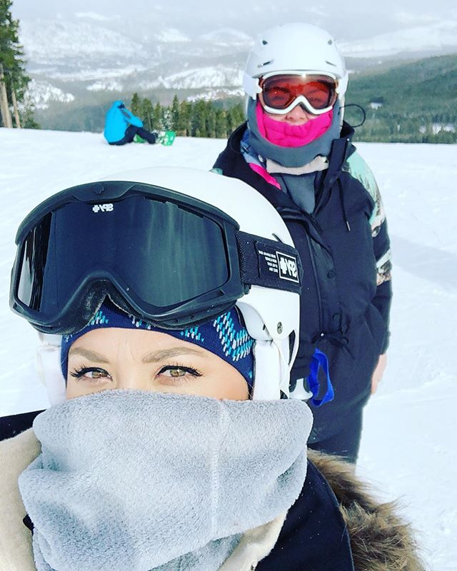 day 2 in breck was one for the books ❄️ @madelyyyyn