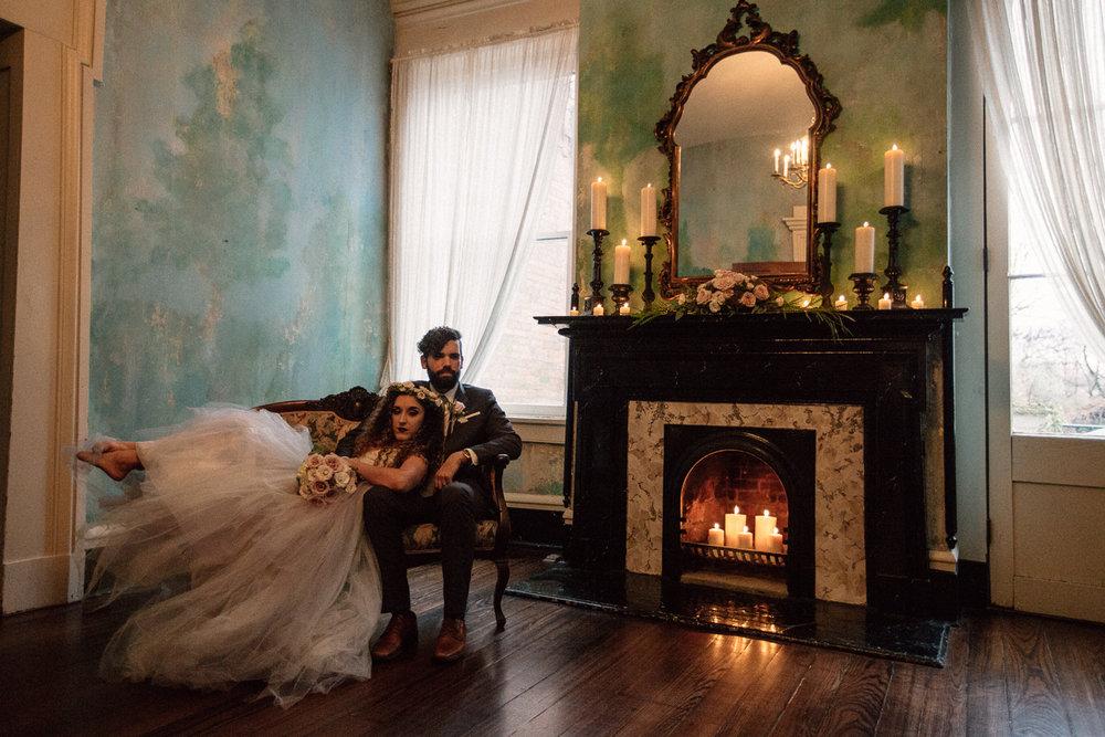 Romantic Candlelit Style Shoot