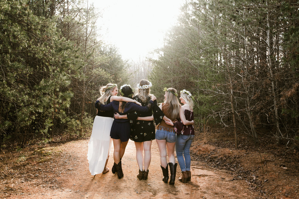 Bohemian Friendship Styled Session