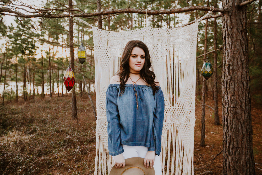 Ethereal & Stylish Senior Portraits \\ Claire Moss