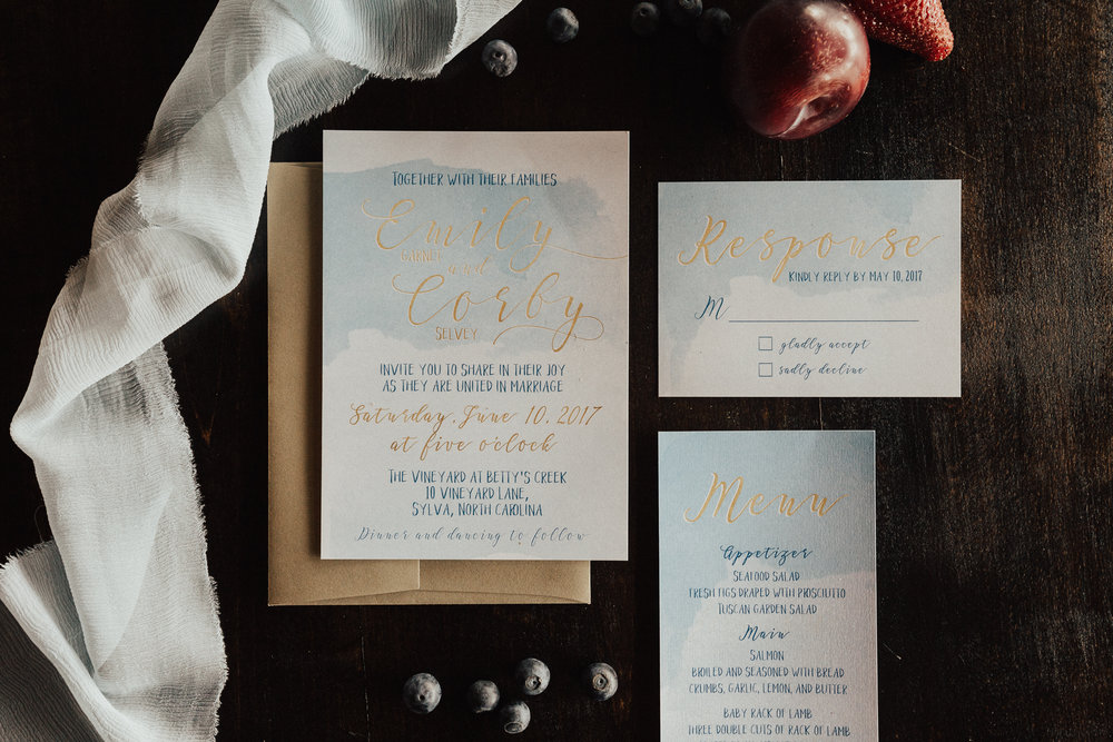 Ashley Steffens Photography Styled Shoot Invitations 01