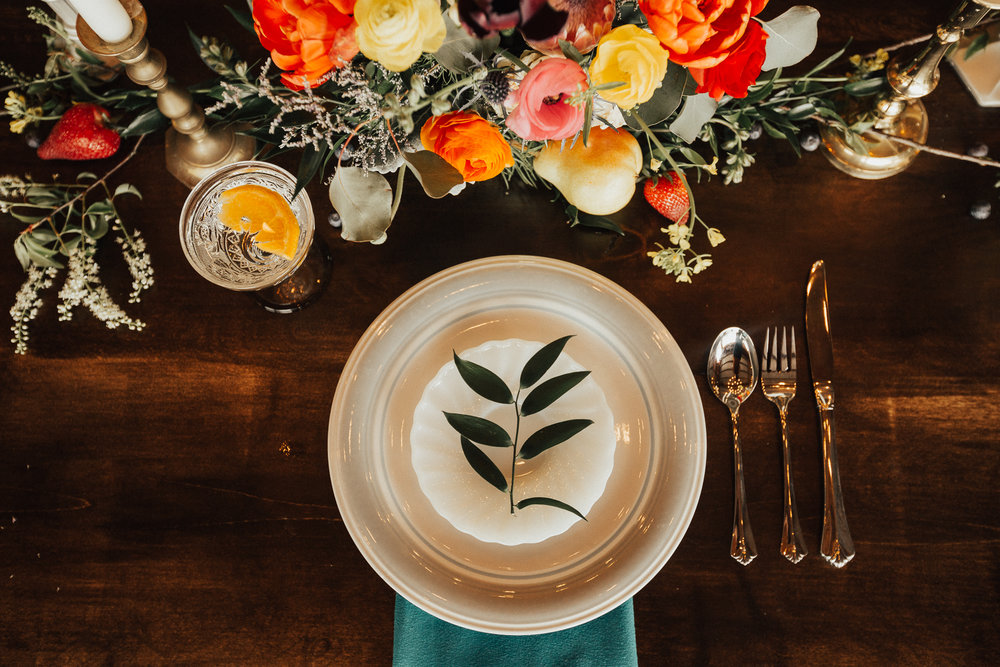Ashley Steffens Photography Styled Shoot Place Setting 01