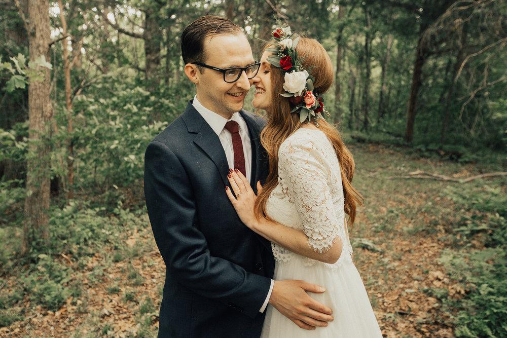 Intimate Tennessee Backyard Wedding