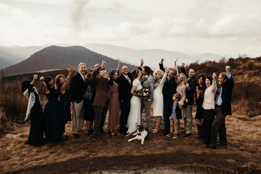 Intimate Mountaintop Wedding \\ Alex & Craig