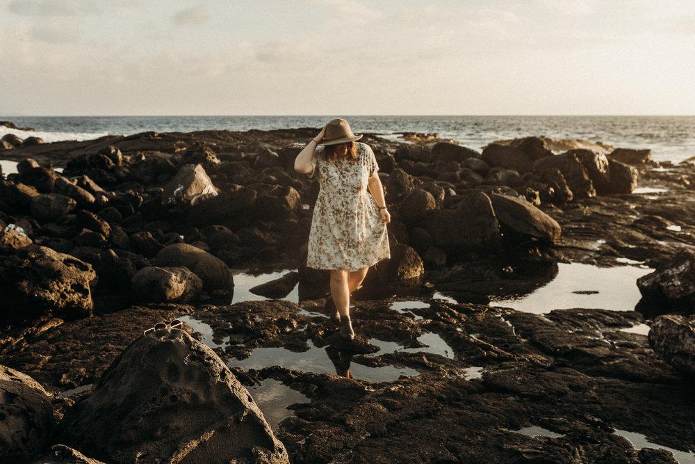 Hawaii Beach Portraits \\ Me & Maggie