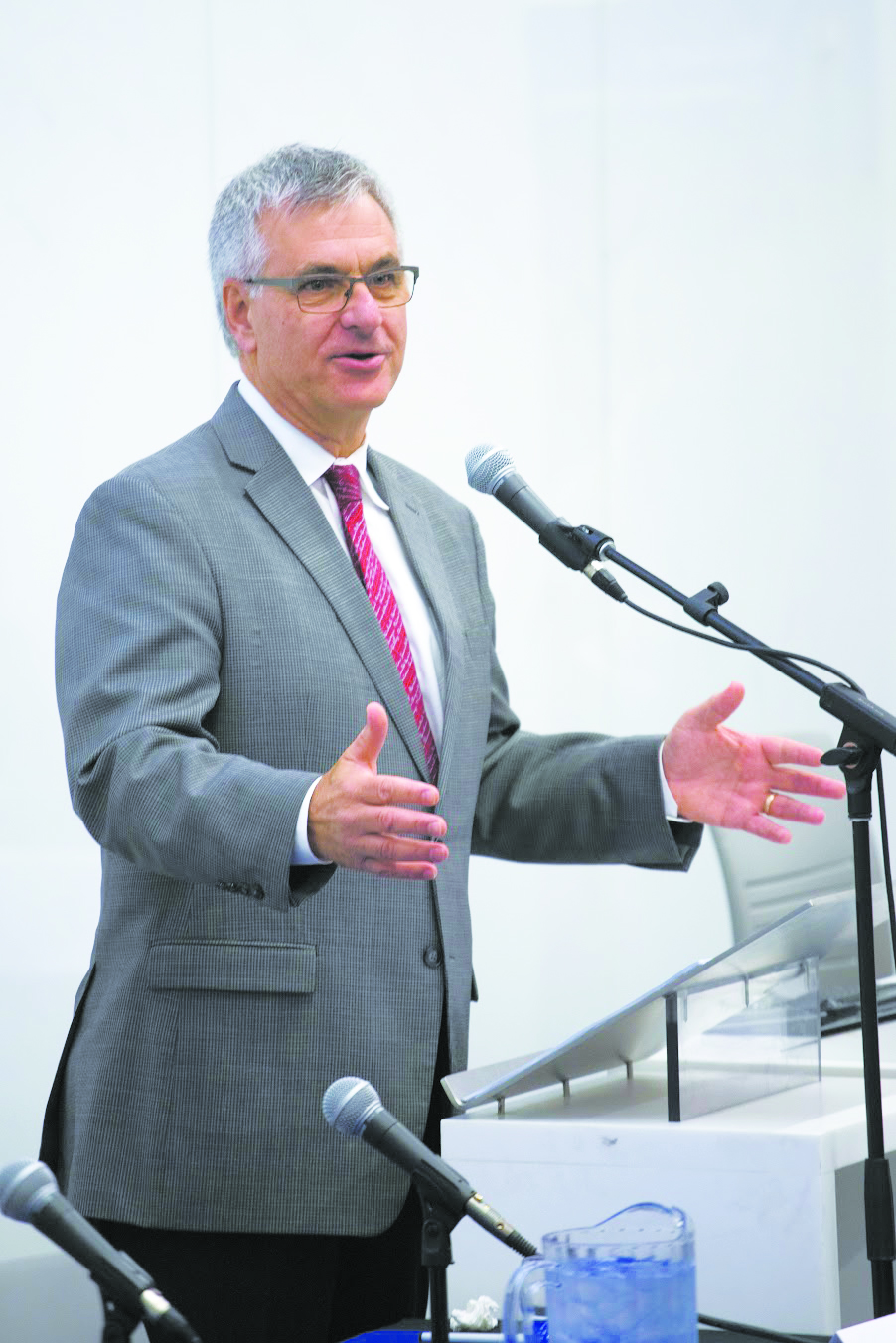 Pictured here: quebec MP Jean-Marc Fournier, Minister of Canadian Relations and the Canadian Francophonie.