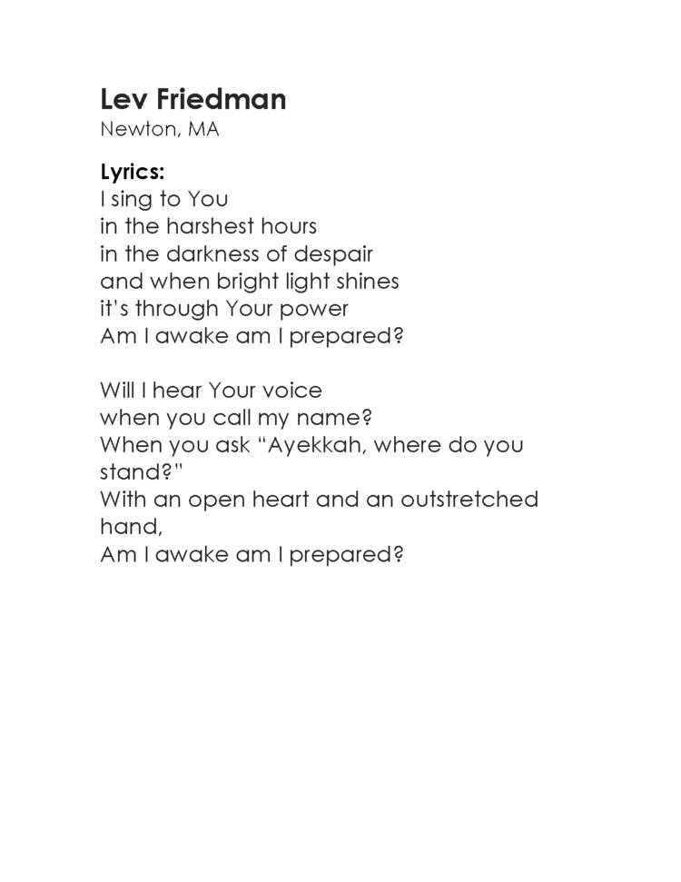 Am I Awake Campaign — Noah Aronson Music