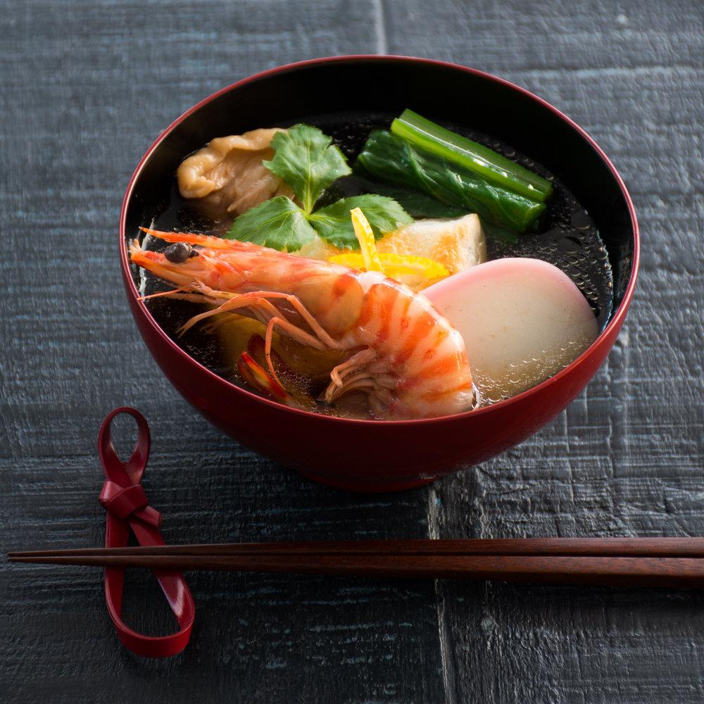 東京 関東風雑煮