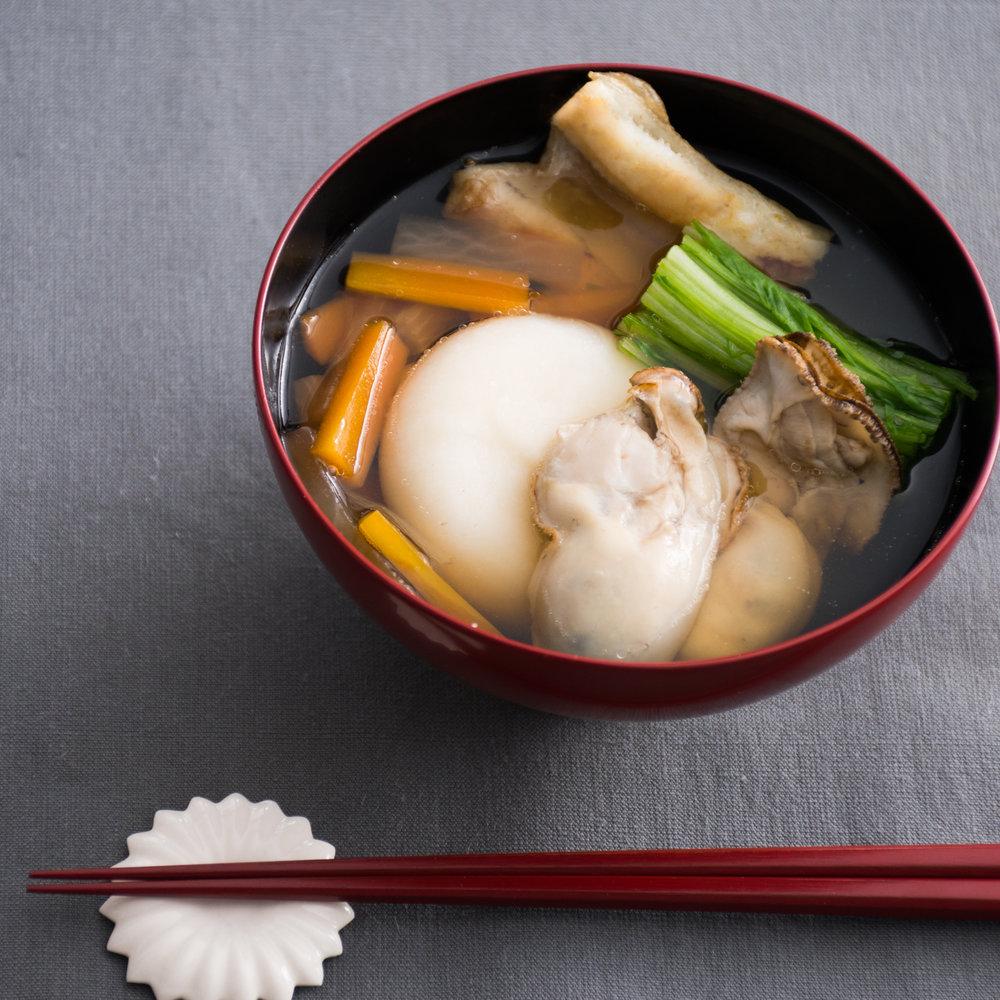 広島 牡蠣雑煮