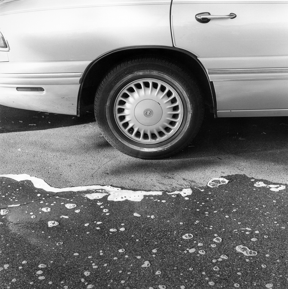 Car Wheel, 2004, archival pigment print on paper