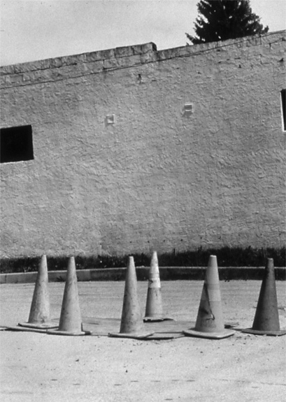 "Cones from the ""Animated Object"" Series, 1996, archival pigment print on paper"
