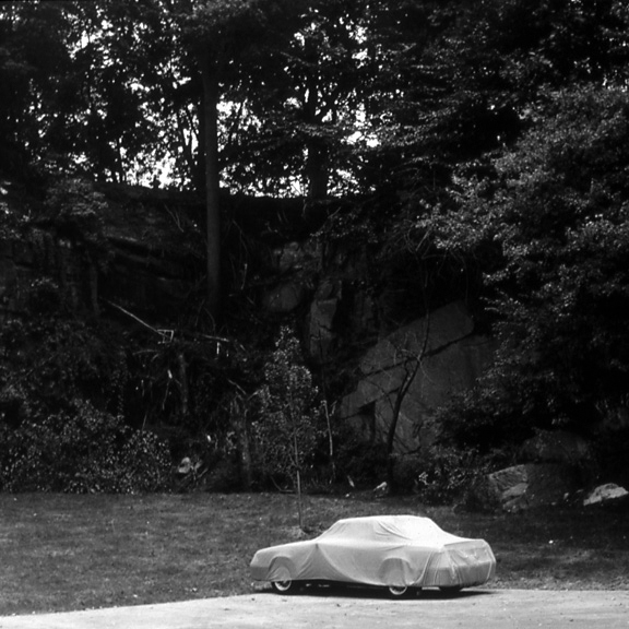 Covered from the Suburbia Series, 1993, archival pigment print on paper