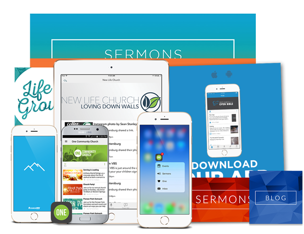 Custom Church Apps Screenshots