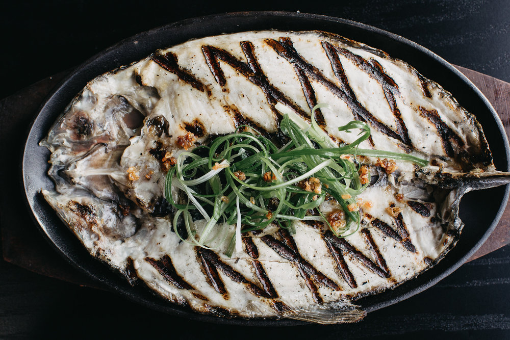 Grilled Bangus (Milk Fish)