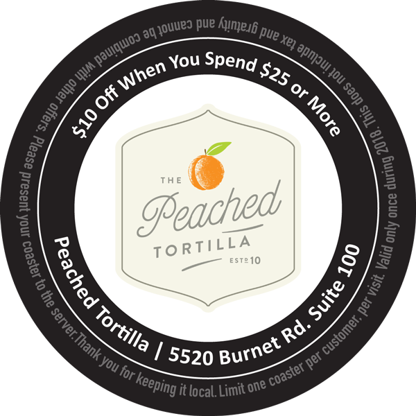 Peached Tortilla