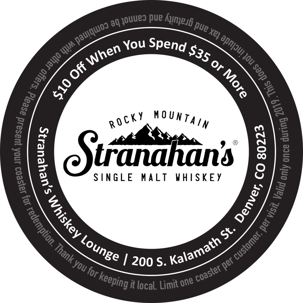 Stranahan's Whiskey Lounge