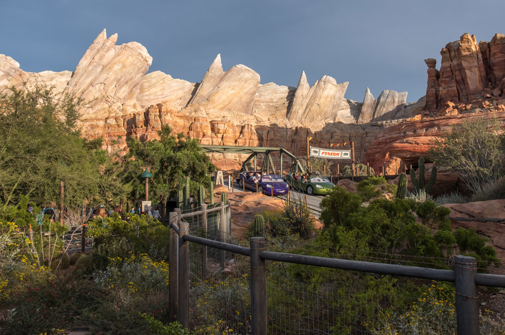 Cars Land is the appropriate theme for today's quiz answer.