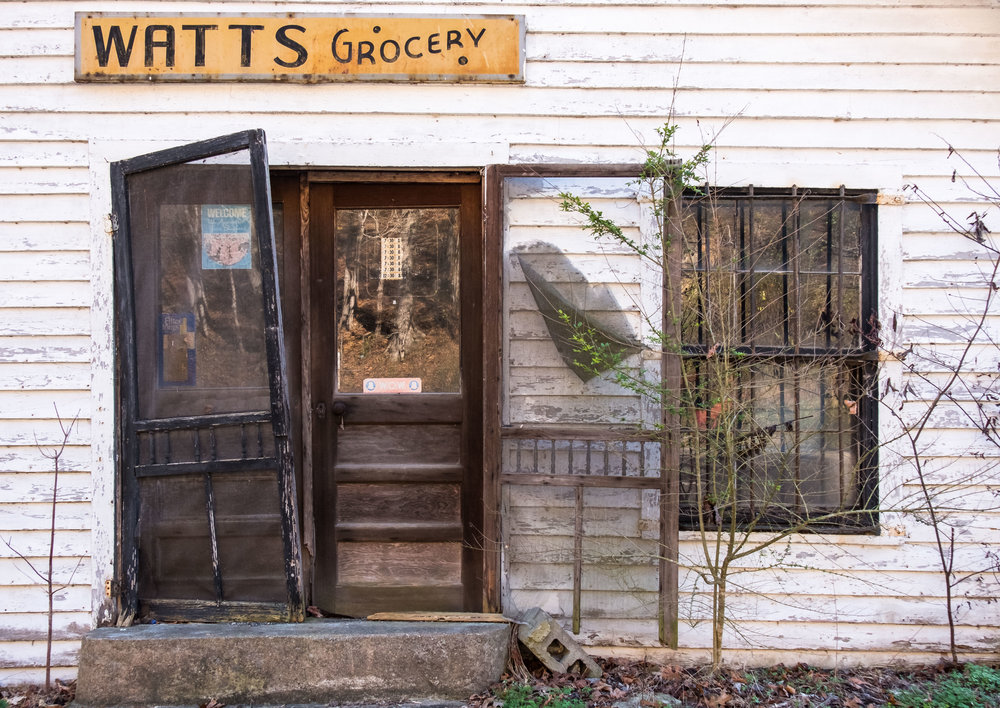 You have to buy groceries! Abandoned store in north central Tennessee.