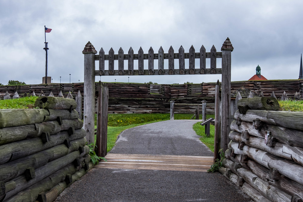 Fort's outer gate