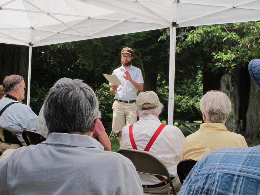 Joshua Klein's Outdoor Presentation