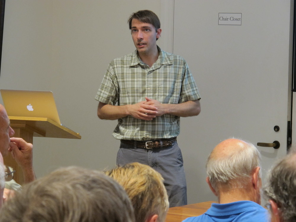 Sean Birkel, a Maine state climatologist and University of Maine research assistant professor