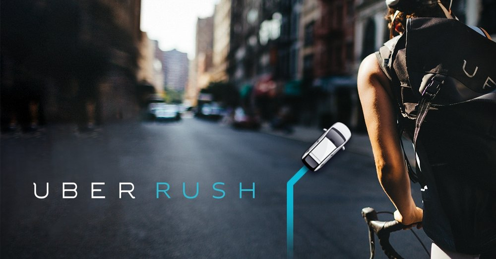 2. UBER RUSH   Uber Rush has been a mini life saver for me. It's an innovative brainchild of Uber Technologies that allows anyone to make money in  their free time as a freelance courier. The genius of the service is that Uber is an inexpensive middleman. It has eliminated the need for companies to hire full-time messengers. This cuts costs for the business and maximizes profit of the messenger.  There are a plethora of incentives for joining. If you join via a referral, you can make earn $100 in your first week (in addition to your earnings) of being a messenger (you just have to make 10 deliveries in that time) --specifications vary by city . Uber also texts daily incentives that amount to per diem bonuses of in the range of $10-$20.    HERE'S MY REFERRAL CODE:  xsnmcmwrue     Join using my code and make the extra money for us both!  P.S., unlike other couriers, you are not restricted to a bike. You can do deliveries on foot. The service is currently available in NYC, Chicago, San Francisco and Miami, but expansion is certainly inevitable.
