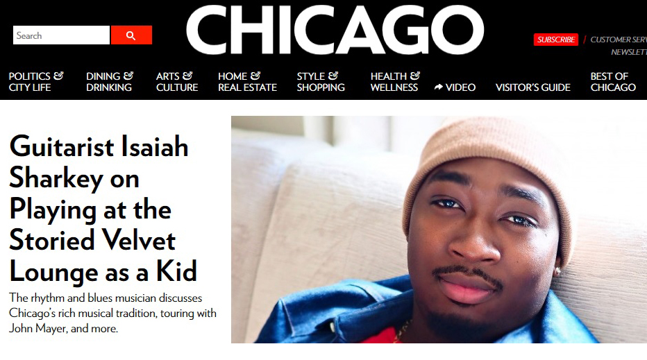ISAIAH SHARKEY CHICAGO MAG