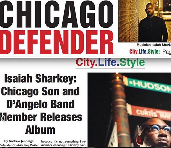 ISAIAH SHARKEY CHICAGO DEFENDER