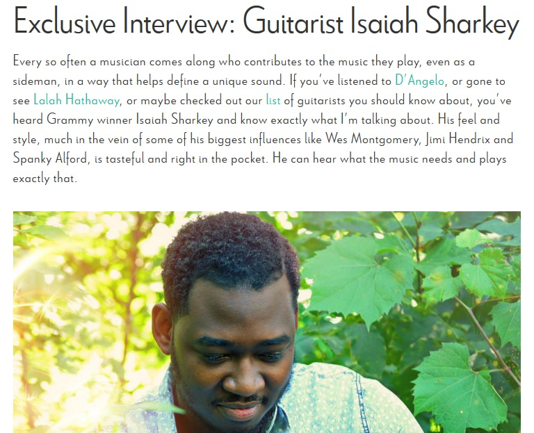 ISAIAH SHARKEY REVIVE MUSIC