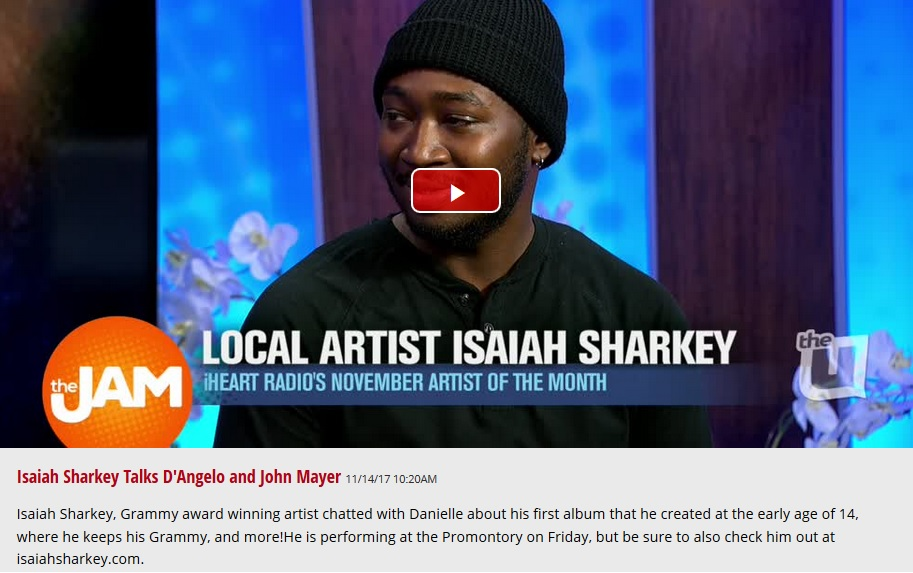 ISAIAH SHARKEY WCIU THE JAM