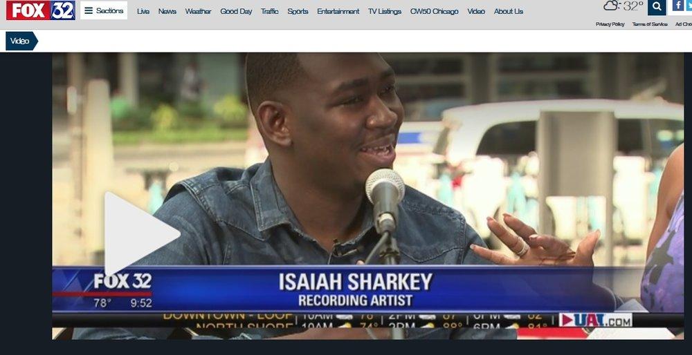 ISAIAH SHARKEY FOXTV 32