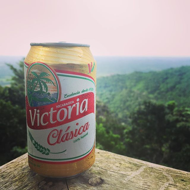 A long day #ziplining in the tree tops of #sjds in #Nicaragua deserves an ice cold #beer @solichs
