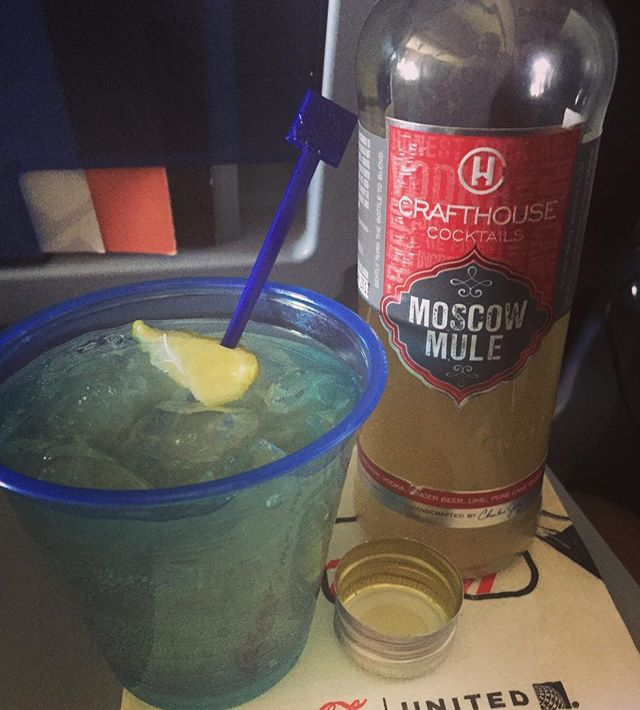Sometimes the only saving grace of a bad day of travel is finding @drinkcrafthouse on board.. nice way to pass the time, @charlesjoly  #cocktails #mixology #pals #drinks #travel #cocktailroadshow