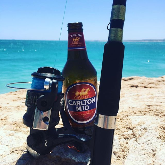 A day #fishing is necessary when back home in #australia, doesn't matter what you catch when catching up with #dad and having a #beer is reward in itself